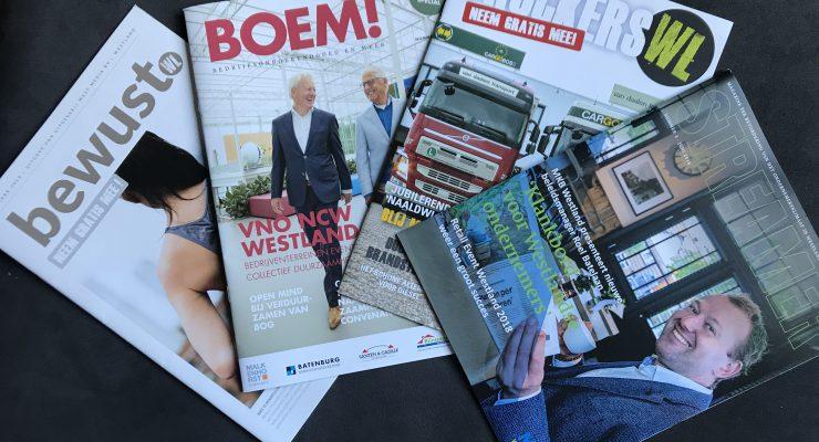 Nieuwe magazines verschenen